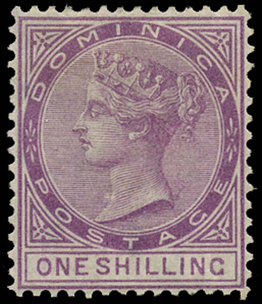 DOMINICA 1877  SG9 Mint