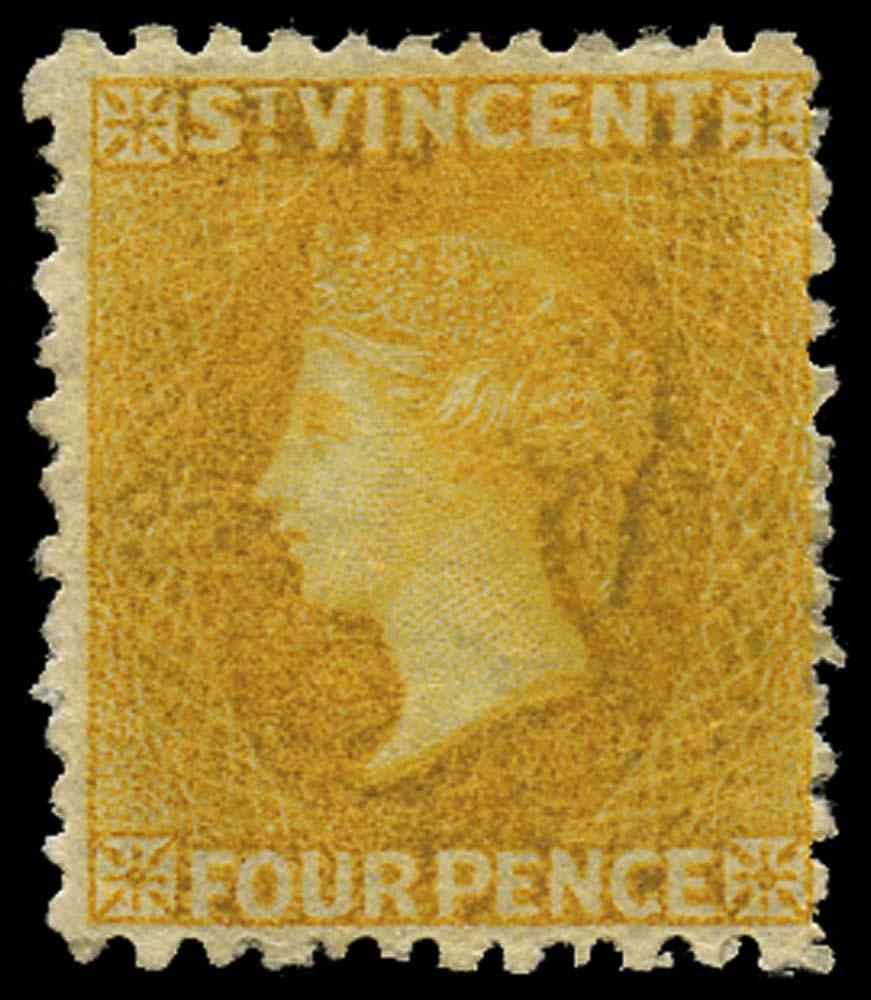 ST VINCENT 1869  SG12 Mint