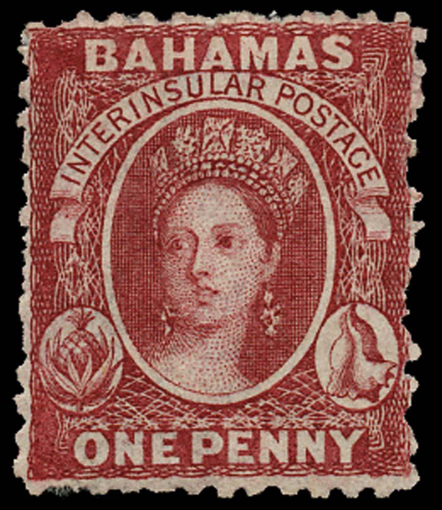 BAHAMAS 1863  SG22 Mint