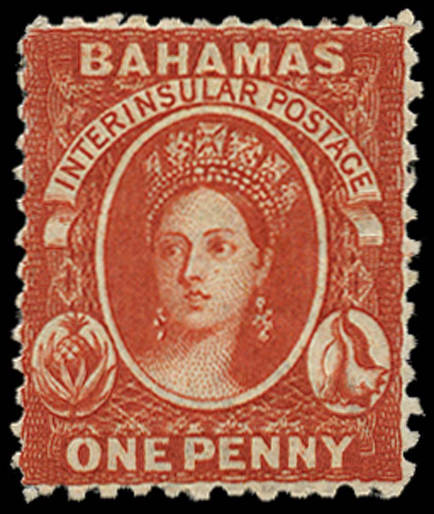 BAHAMAS 1863  SG25 Mint