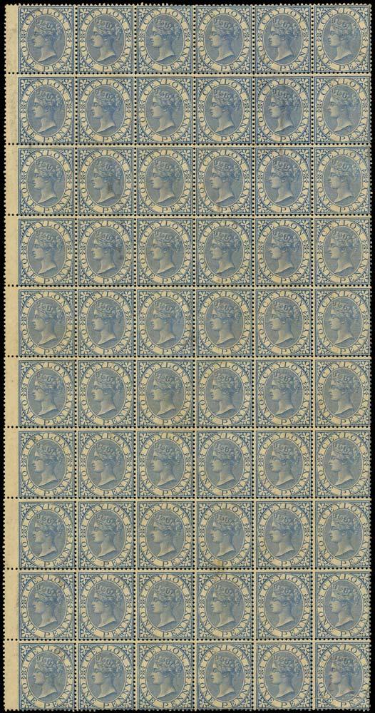 CEYLON 1866  SG61 Mint