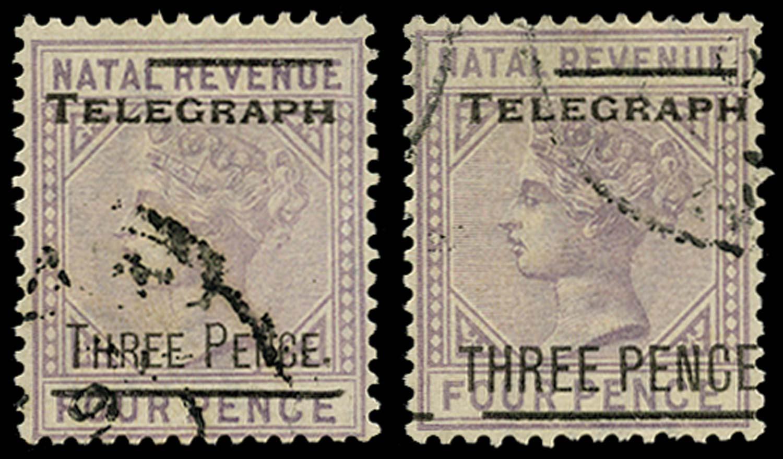NATAL 1902  SGT11/12 Telegraph
