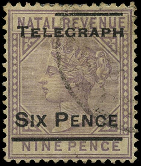 NATAL 1902  SGT14 Telegraph