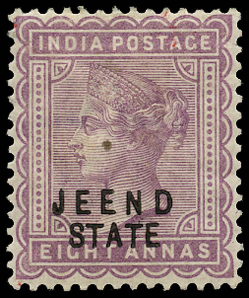 I.C.S. JIND 1885  SG11 Mint