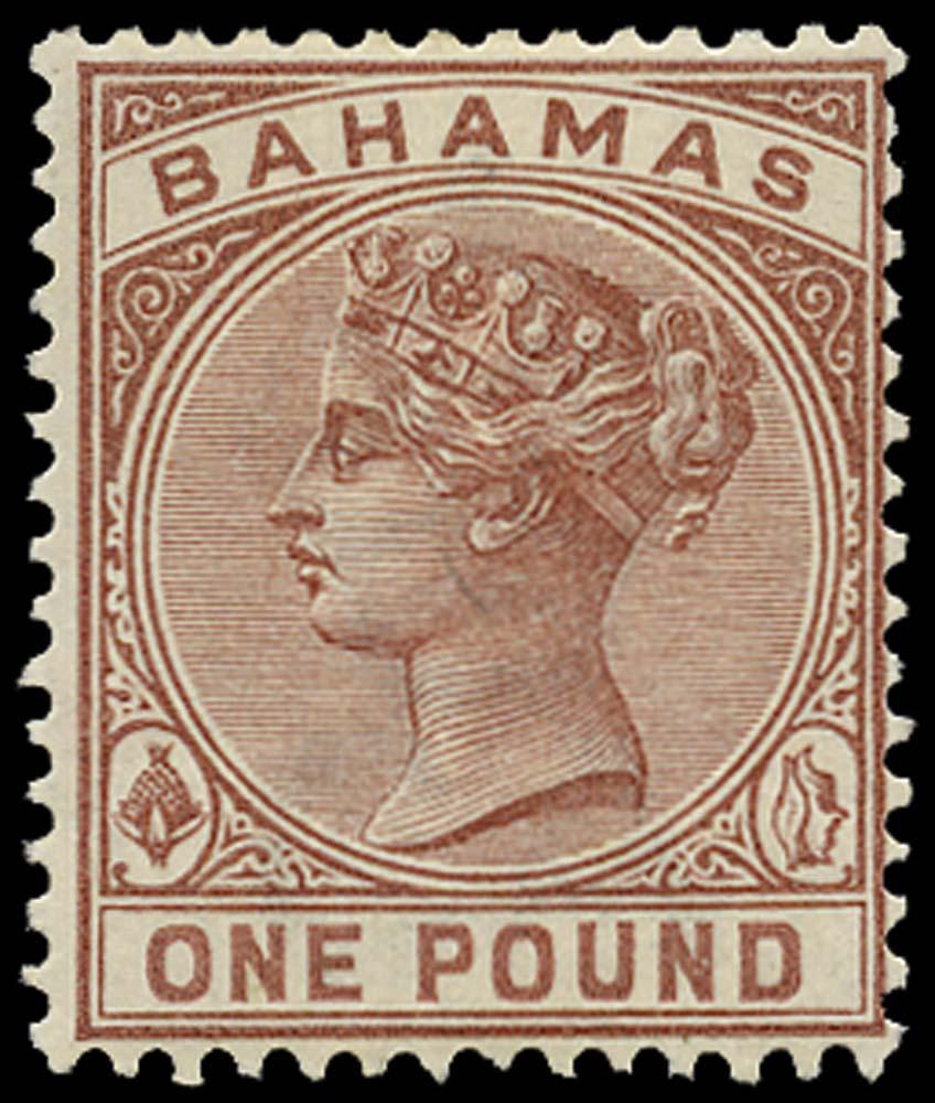 BAHAMAS 1884  SG57 Mint