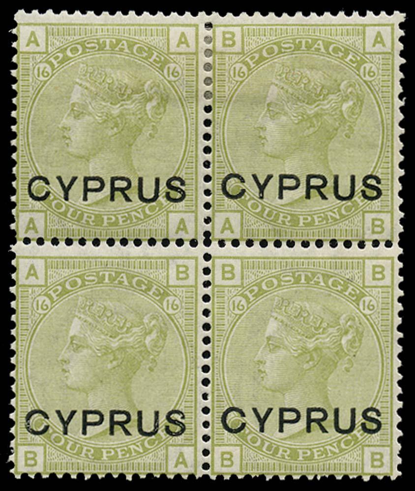 CYPRUS 1880  SG4 Mint