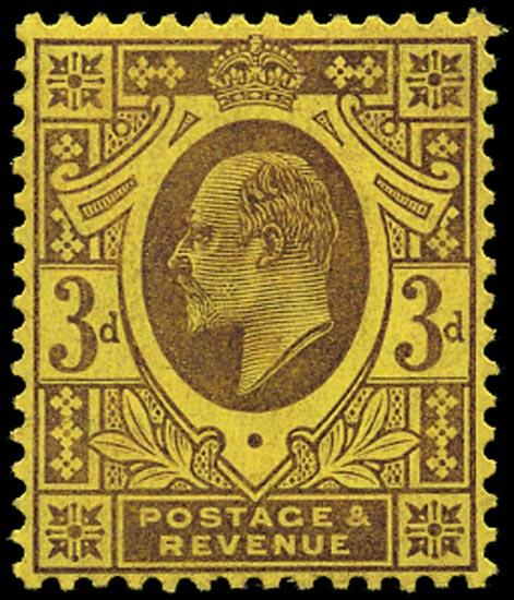 GB 1906  SG232c Mint