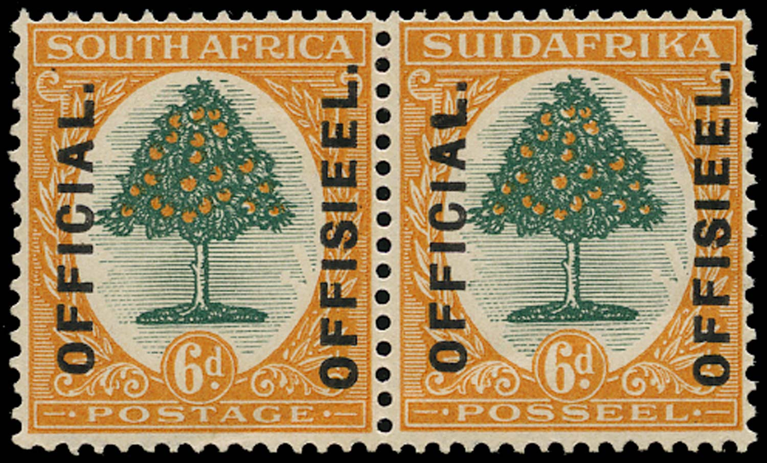 SOUTH AFRICA 1926  SGO4 var Official