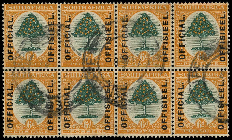 SOUTH AFRICA 1926  SGO4 Official