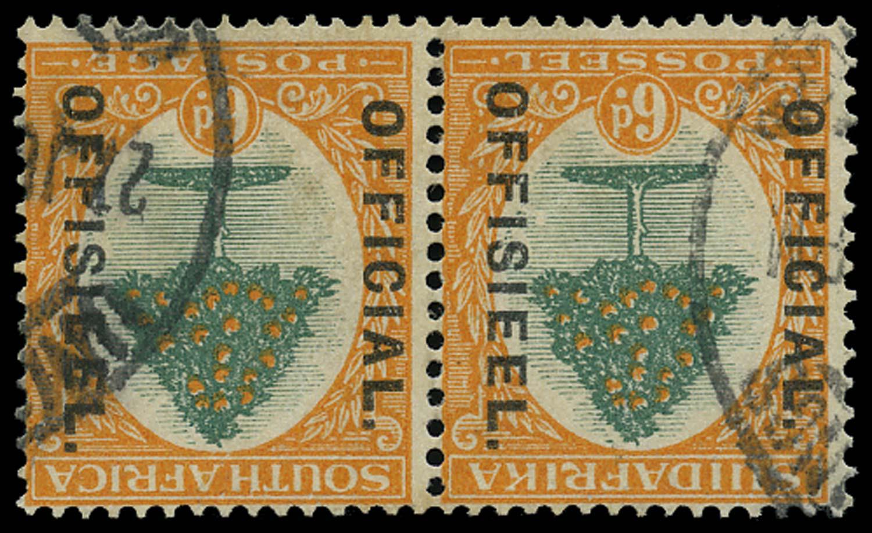 SOUTH AFRICA 1926  SGO4w Official