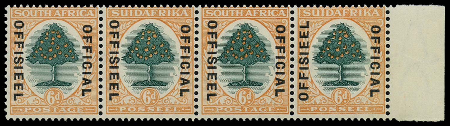 SOUTH AFRICA 1930  SGO16/c Official