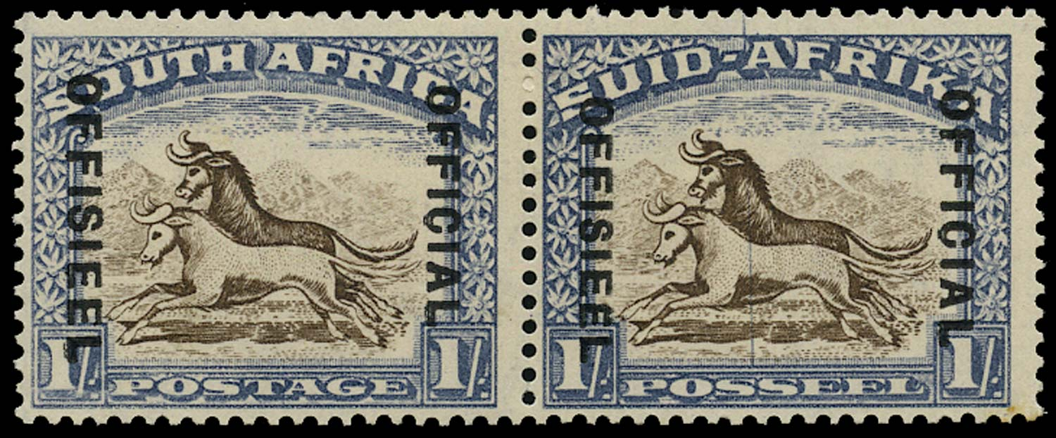 SOUTH AFRICA 1935  SGO25b Official
