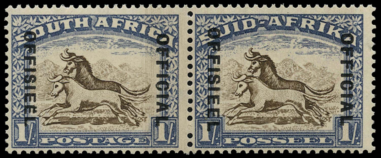 SOUTH AFRICA 1935  SGO25c Official