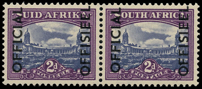 SOUTH AFRICA 1950  SGO45a Official