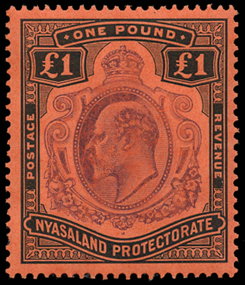 NYASALAND 1908  SG81 Mint