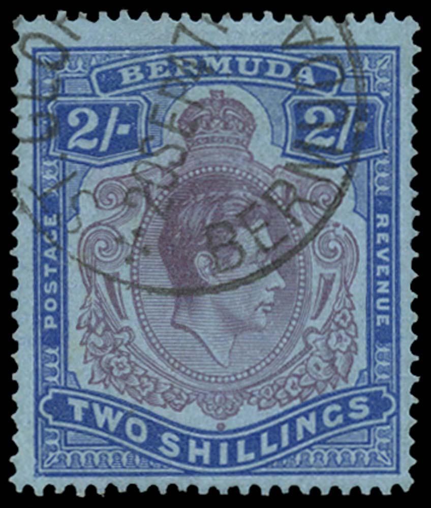 BERMUDA 1943  SG116de Used