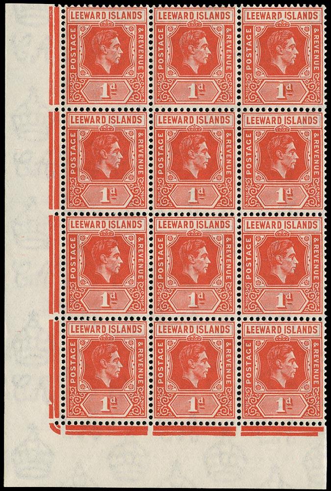 LEEWARD ISLANDS 1940-8  SG99/a Mint