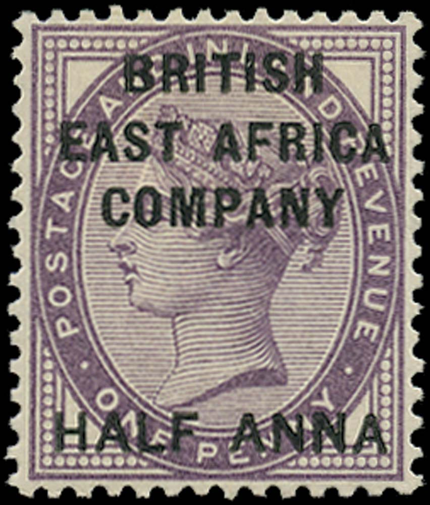 BRITISH EAST AFRICA 1890  SG1 Mint