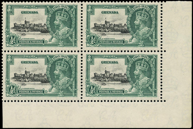 GRENADA 1935  SG145k Mint