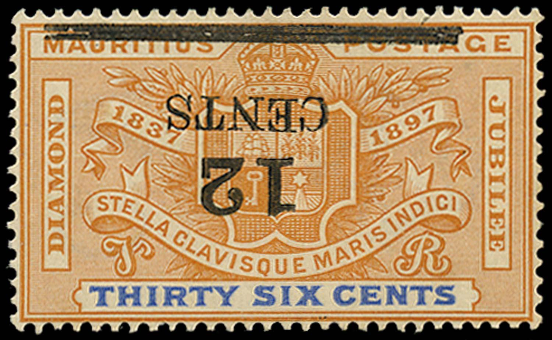MAURITIUS 1902  SG163a Mint