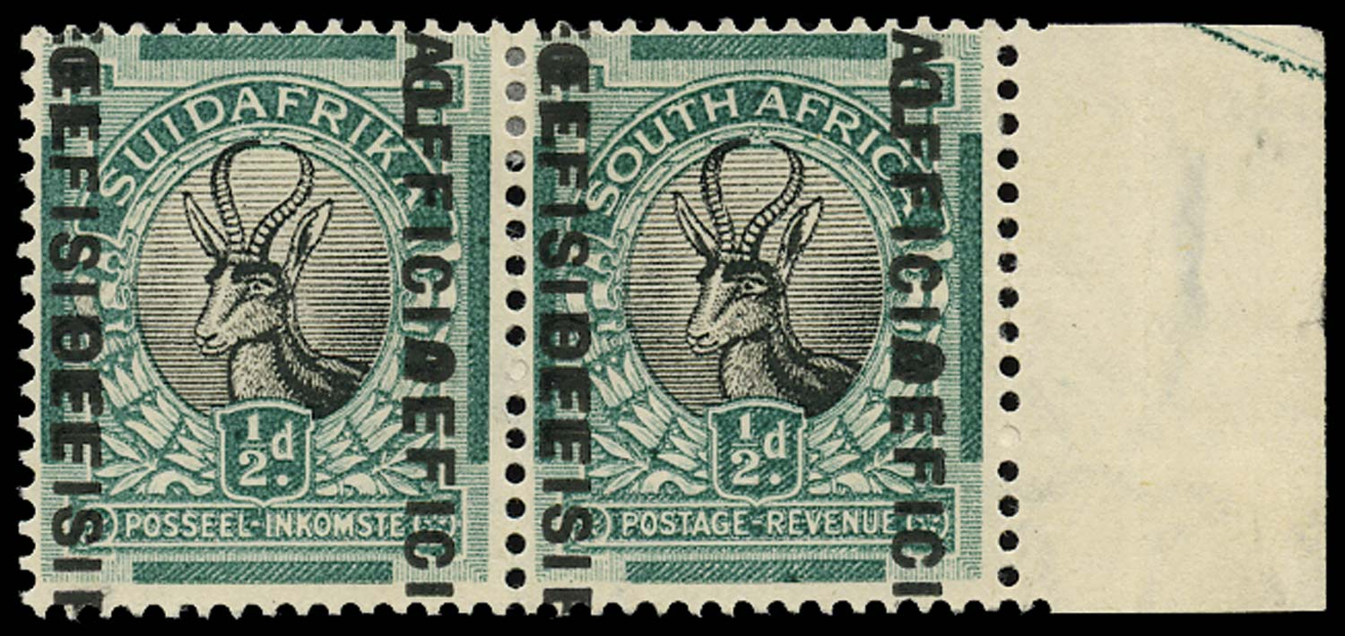 SOUTH AFRICA 1930  SGO12e Official