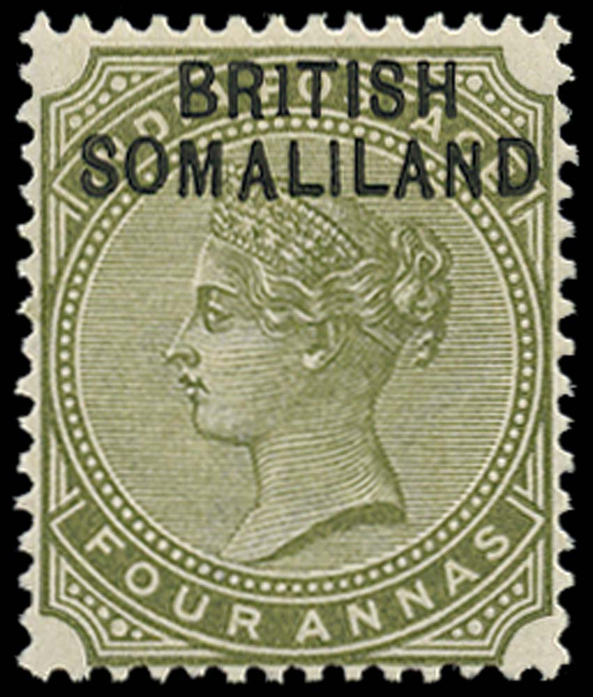 SOMALILAND PROTECT 1903  SG6a Mint