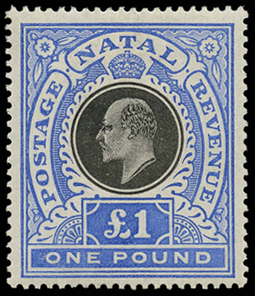NATAL 1902  SG142 Mint