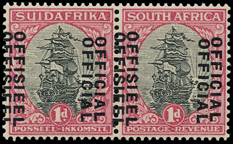SOUTH AFRICA 1930  SGO13da Official
