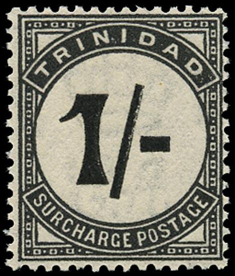 TRINIDAD & TOBAGO 1923  SGD25 Postage Due