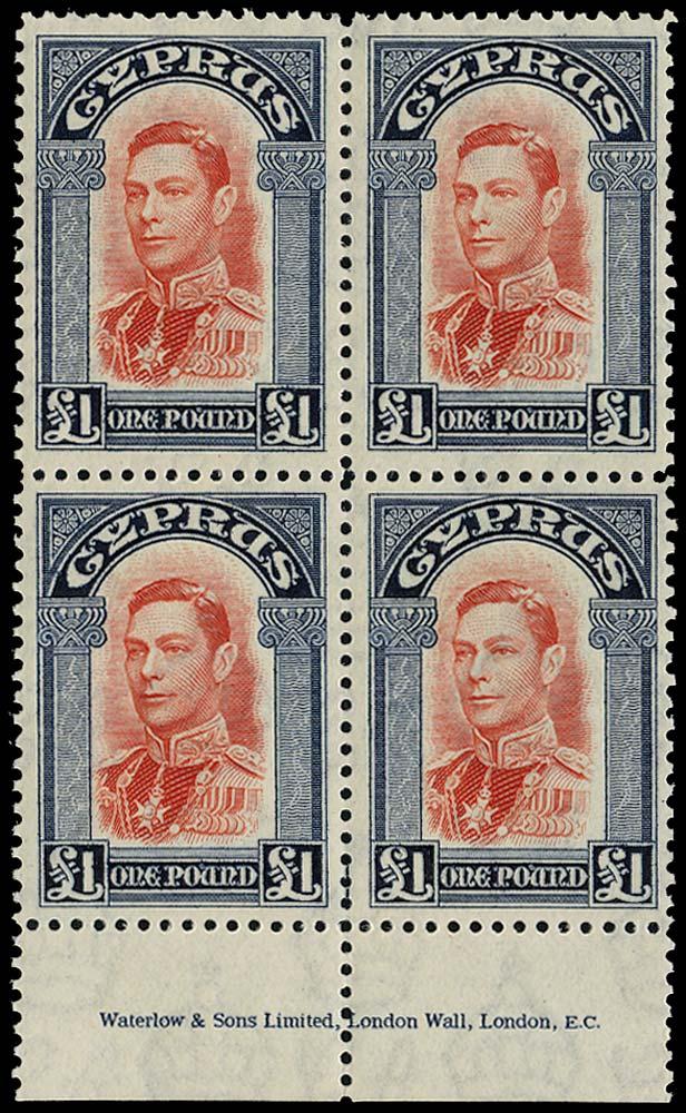 CYPRUS 1938  SG163 Mint