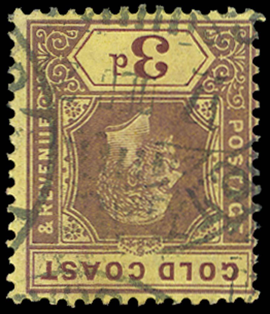 GOLD COAST 1913  SG77cw Used