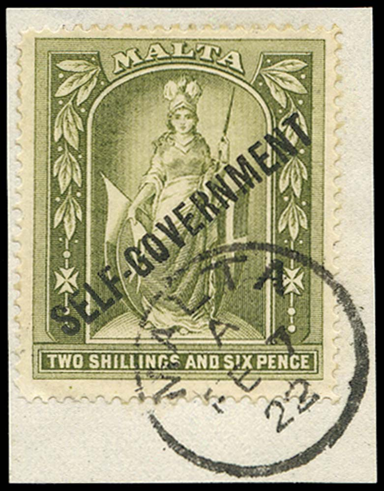 MALTA 1922  SG112 Used