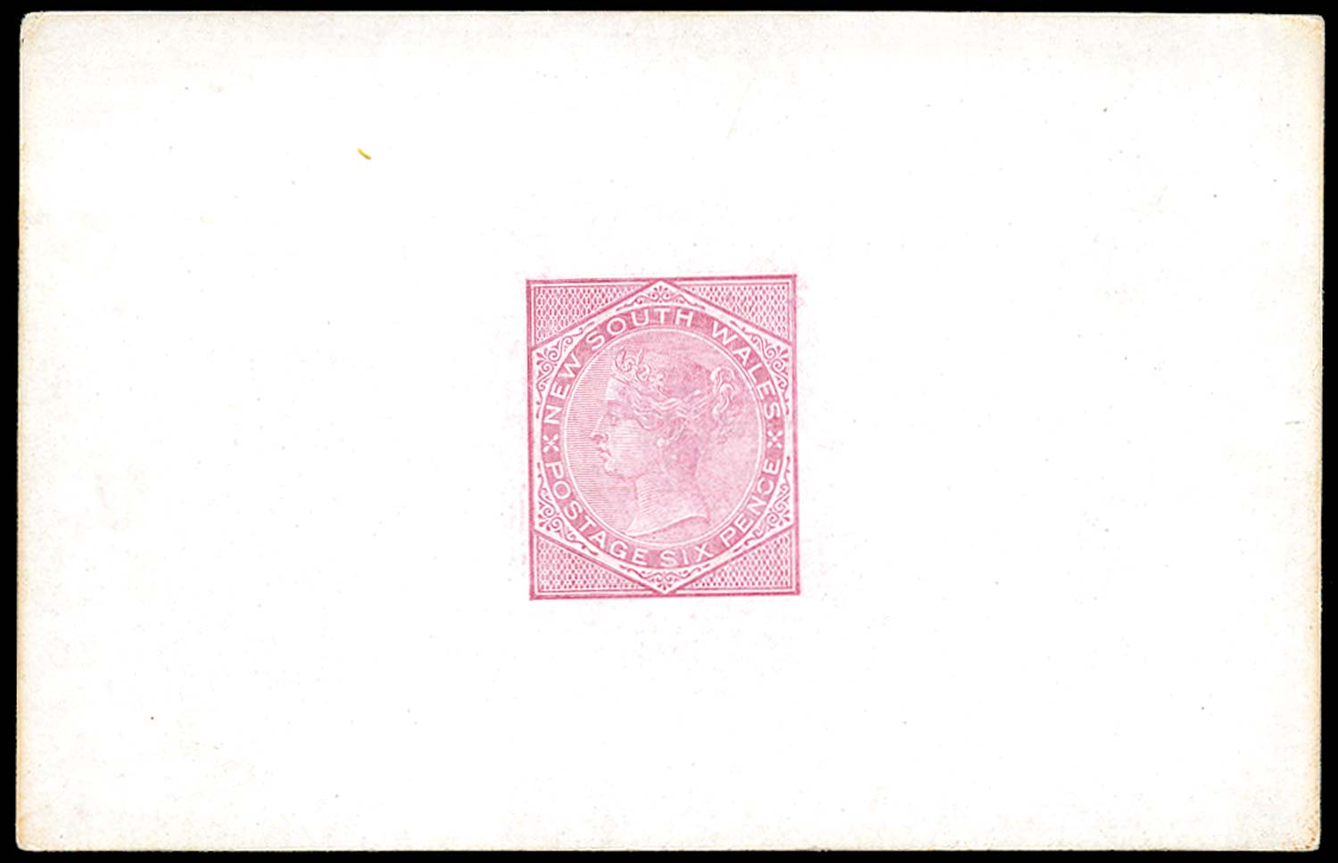 NEW SOUTH WALES 1871  SG216 Proof