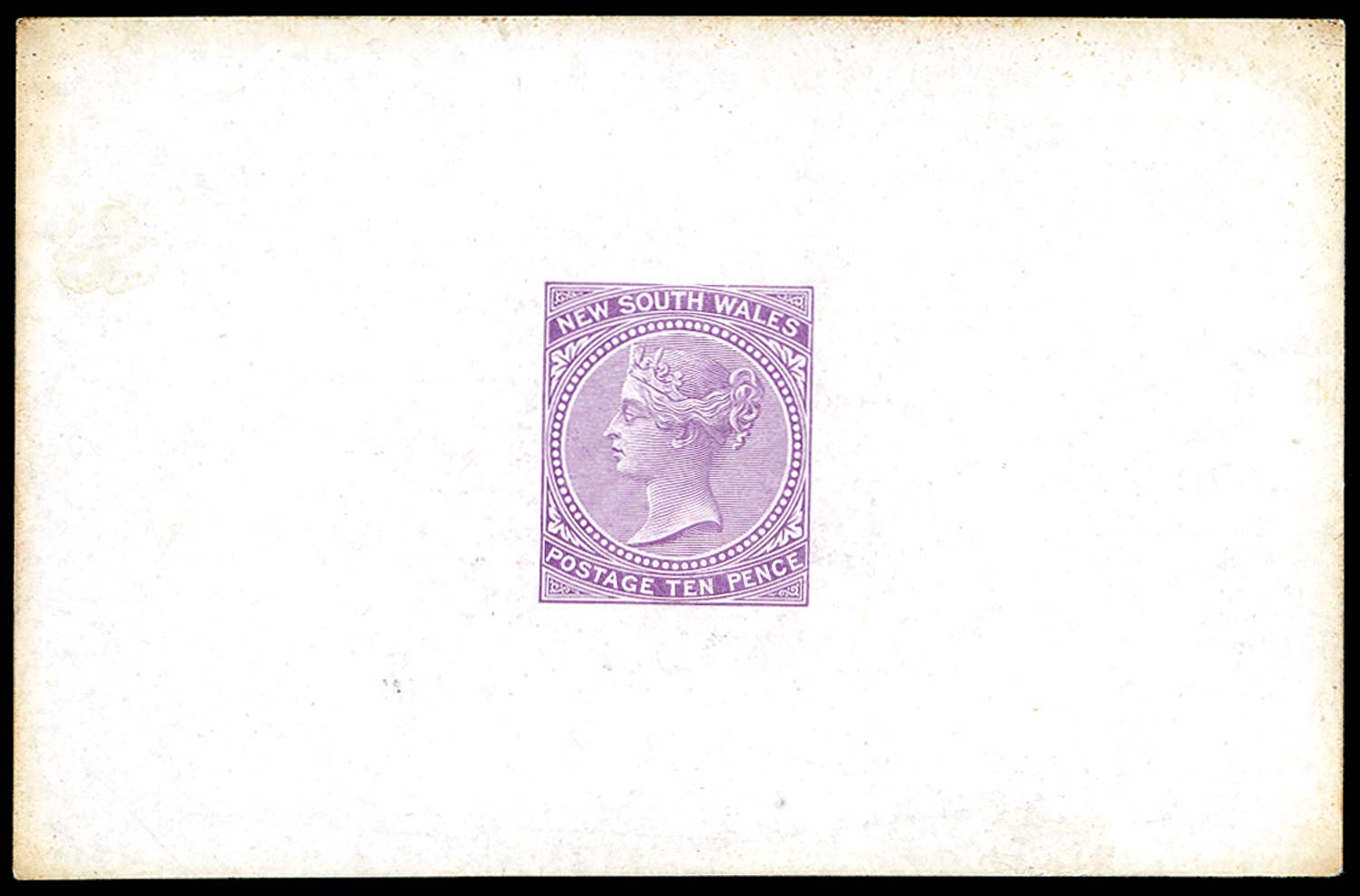 NEW SOUTH WALES 1867  SG205 Proof
