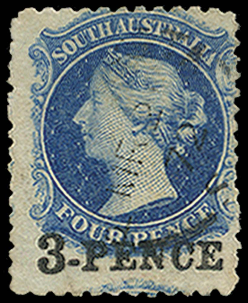 SOUTH AUSTRALIA 1868  SG66 Used