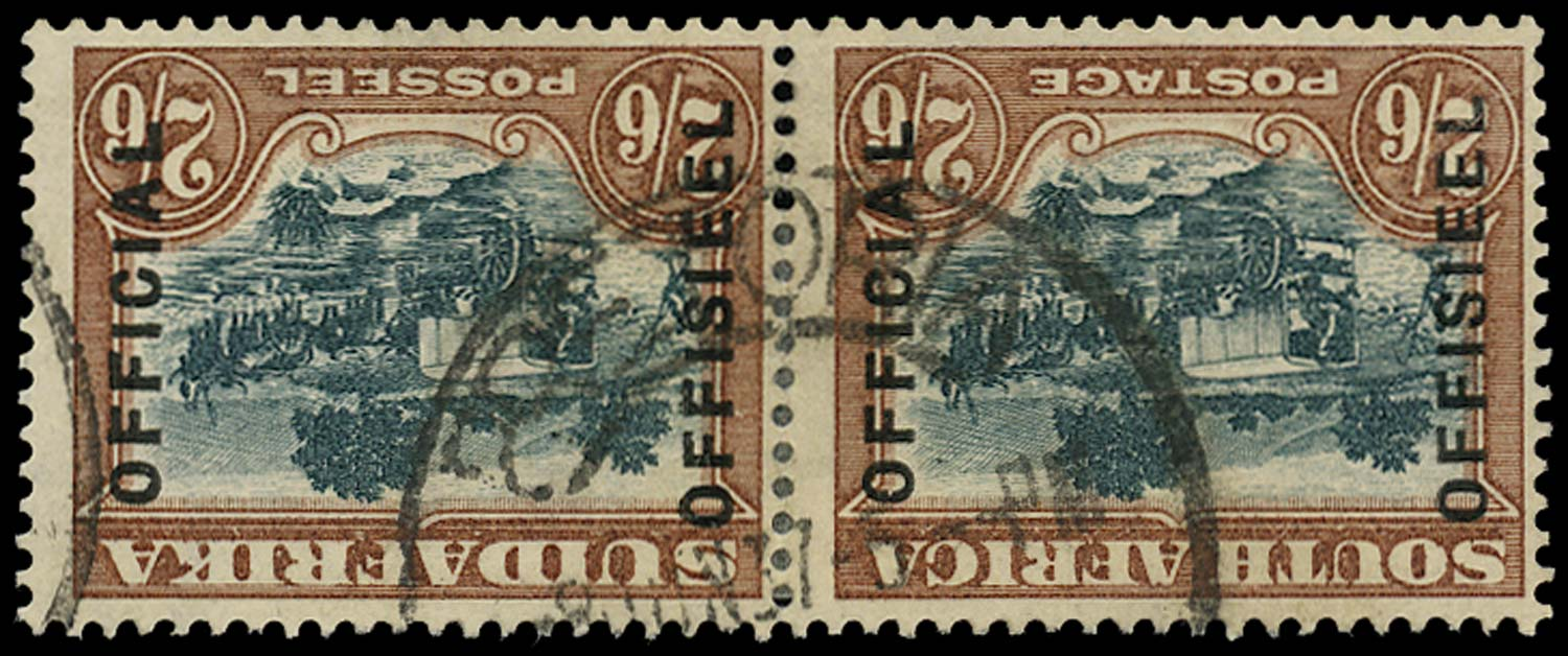 SOUTH AFRICA 1930  SGO18aw Official