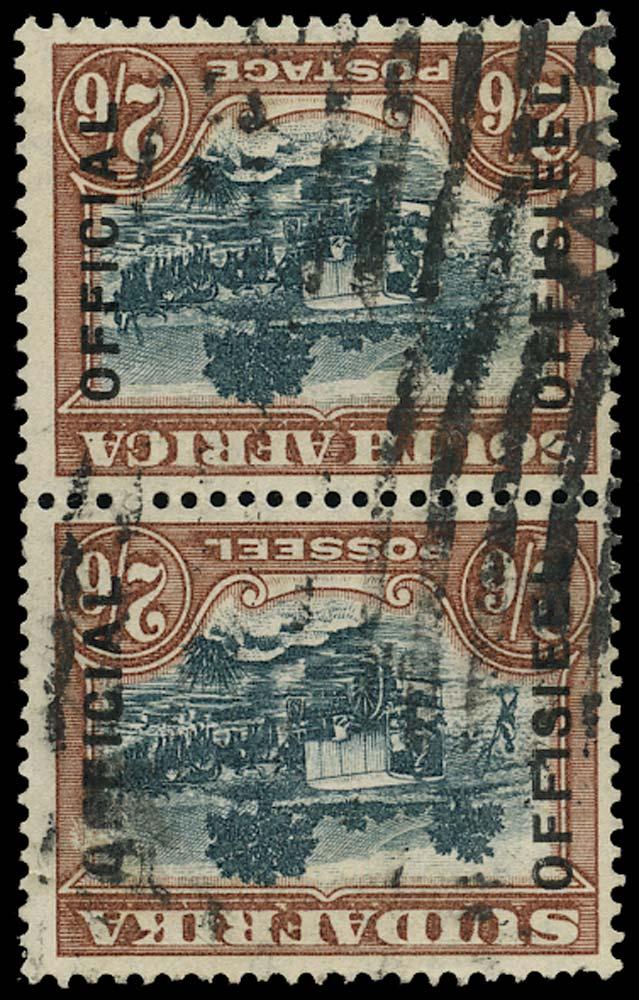 SOUTH AFRICA 1930  SGO18aw Official