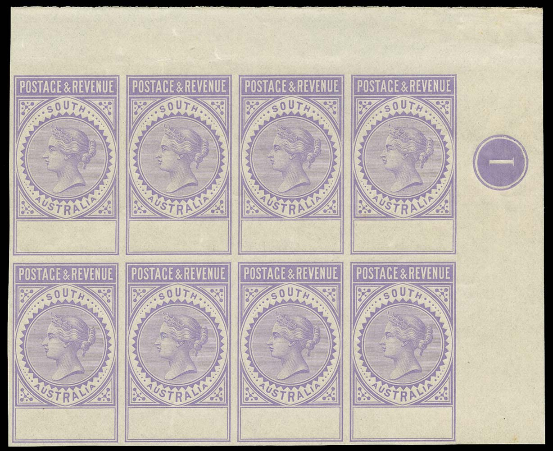 SOUTH AUSTRALIA 1886  SG195/208 Proof
