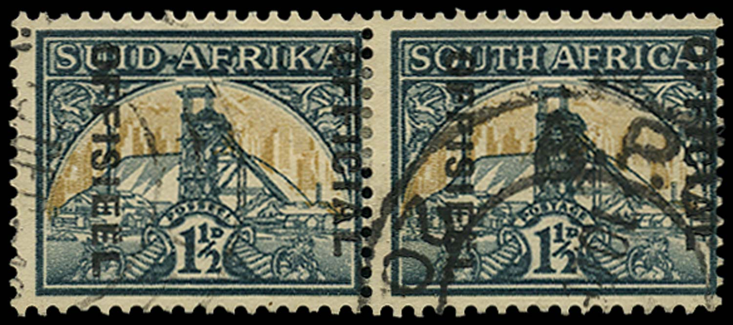 SOUTH AFRICA 1944  SGO33a var Official