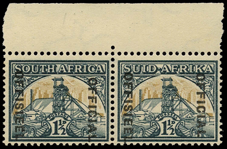SOUTH AFRICA 1944  SGO33a Official