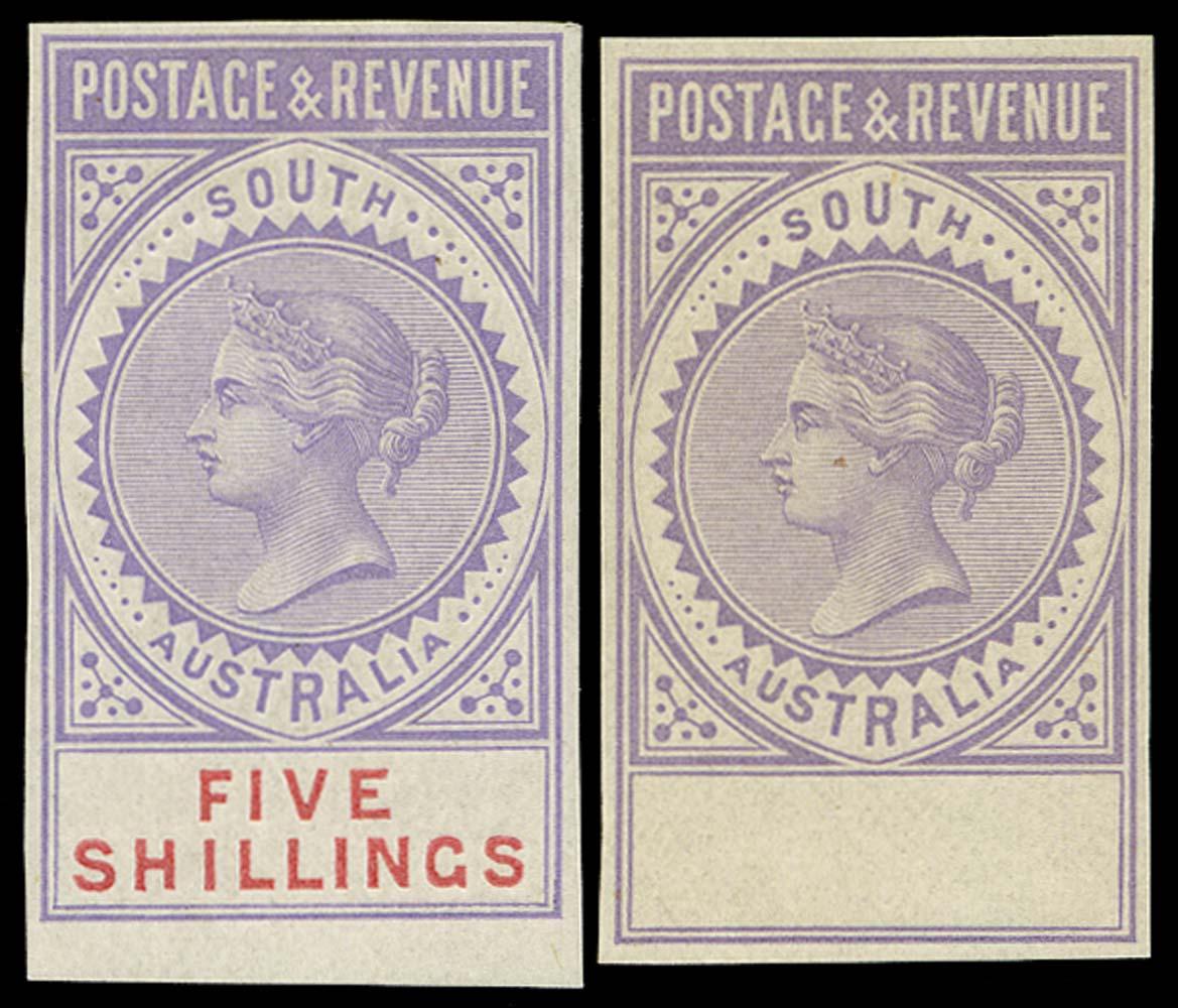 SOUTH AUSTRALIA 1886  SG196 Proof