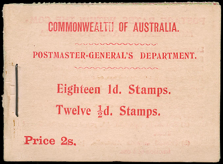 SOUTH AUSTRALIA 1911  SGSB4 Booklet