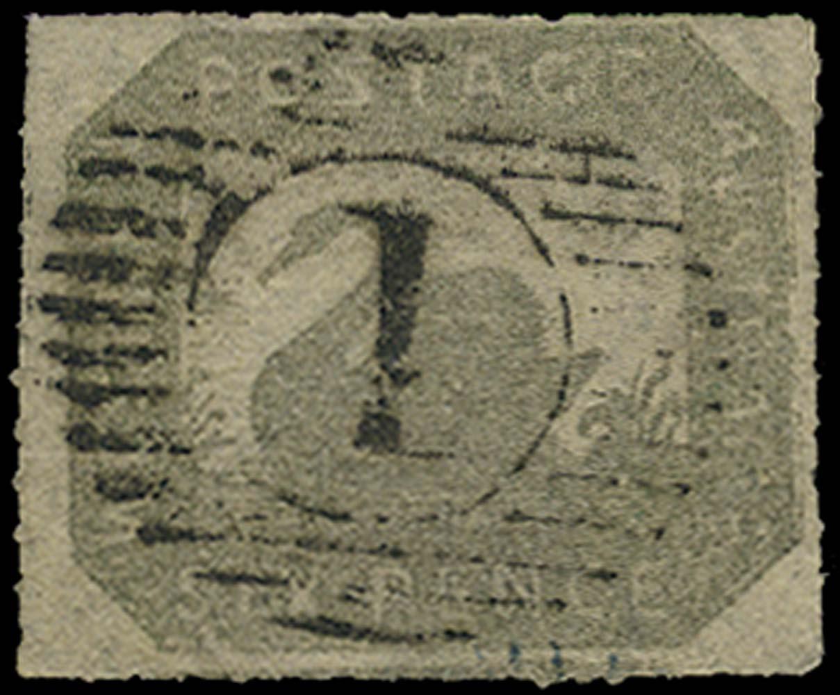WESTERN AUSTRALIA 1857  SG23 Used