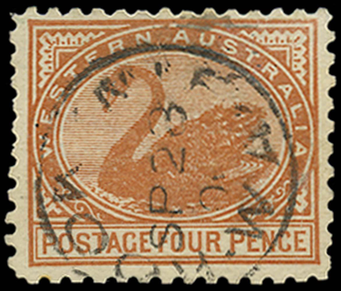 WESTERN AUSTRALIA 1902  SG131 Used