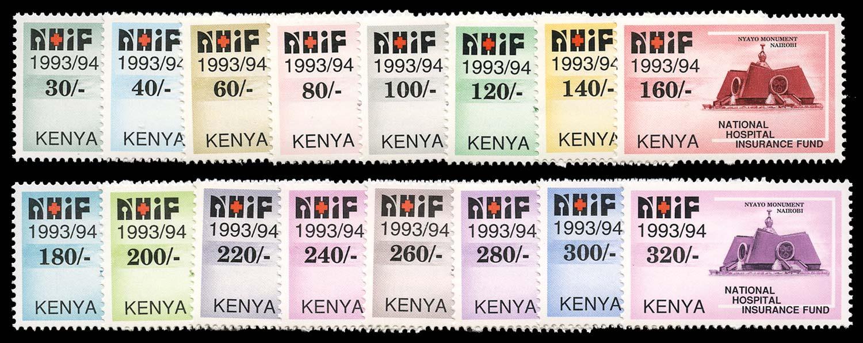 KENYA 1991 Revenue Hospital Insurance Fund