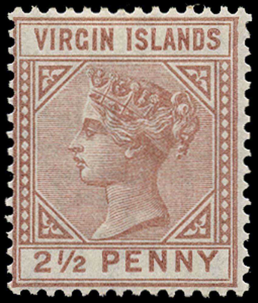 VIRGIN ISLANDS 1879  SG25 Mint