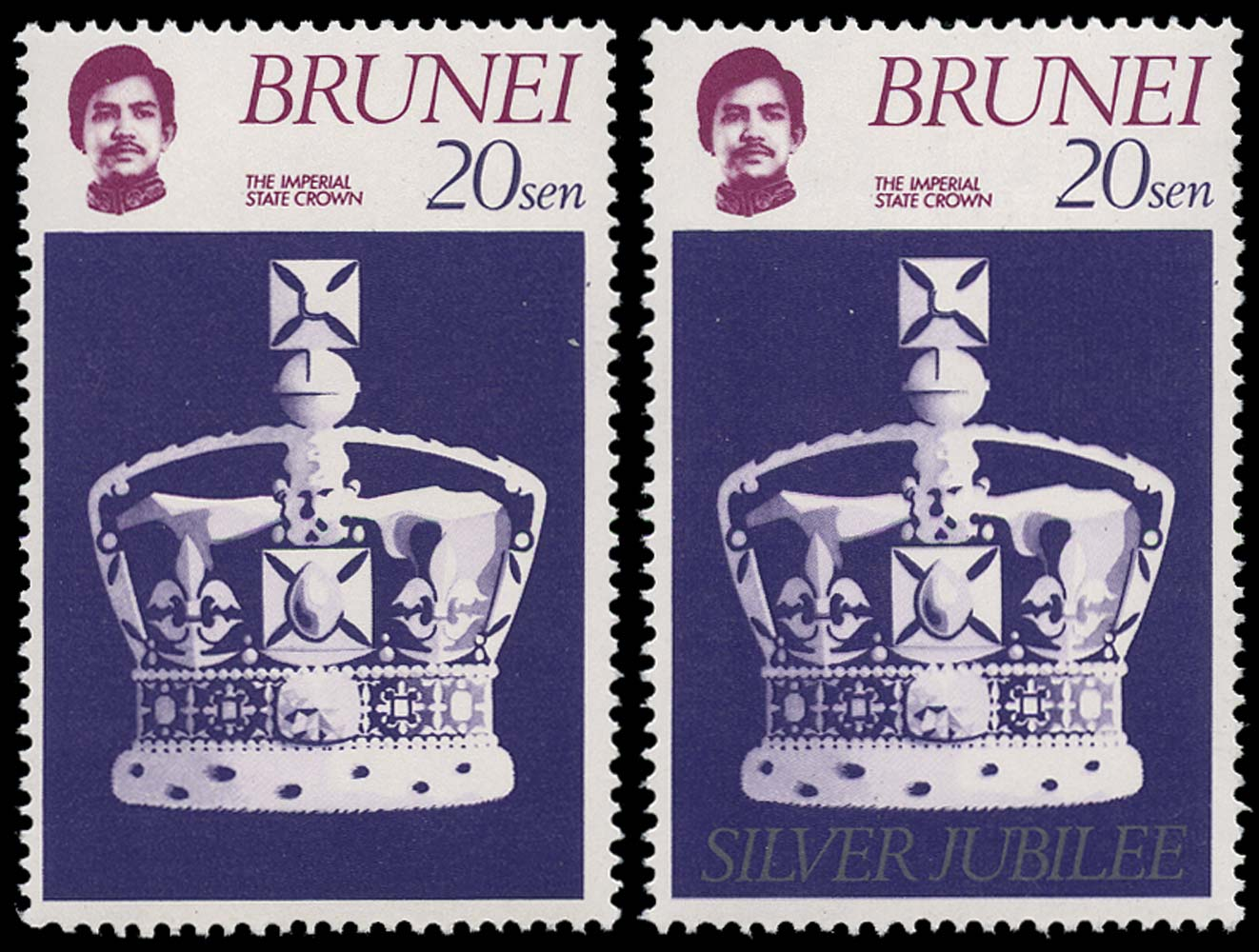 BRUNEI 1977  SG265a Mint