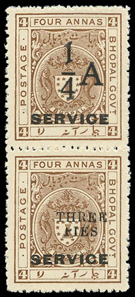 I.F.S. BHOPAL 1935  SGO323a Official