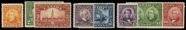 CANADA 1927  SG266/73 Mint