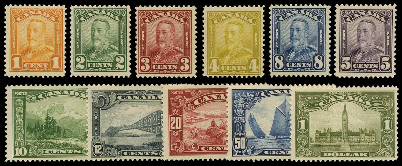 CANADA 1928  SG275/85 Mint